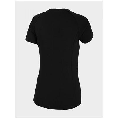 Koszulka Damska Fitness Outhorn TSDF600 HOZ20 czarna