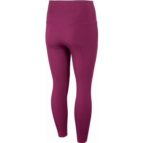 Spodnie Damskie Fitness 4F SPDF011 HOZ20 Burgund