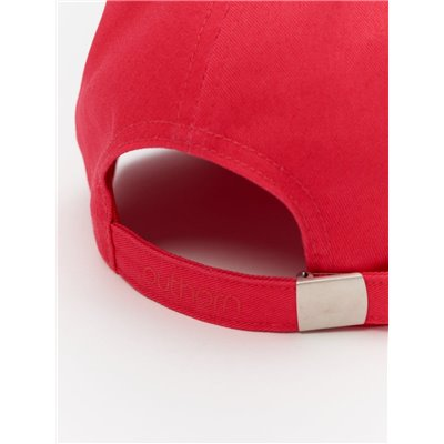 Czapka Damska Z Daszkiem Outhorn CAD600 H4L21 czerwona
