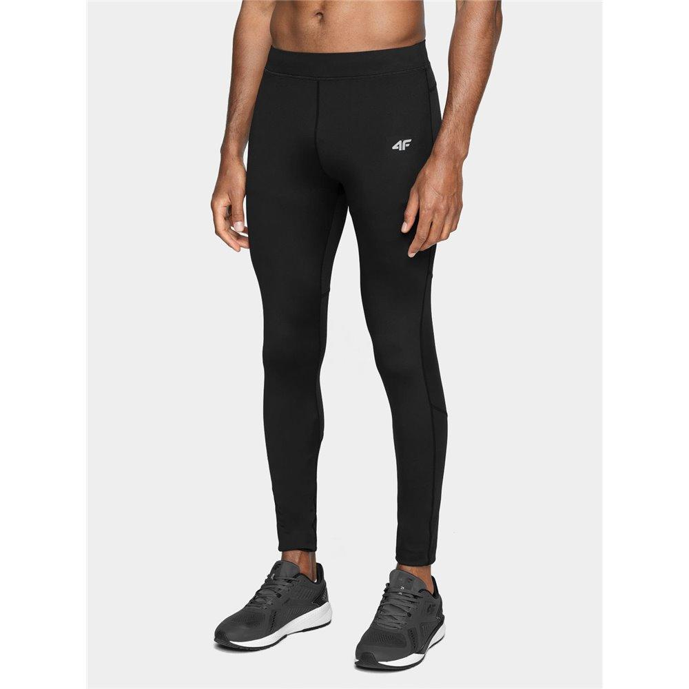 Spodnie Legginsy Treningowe Męskie 4F SPMF011 H4L21 czarne
