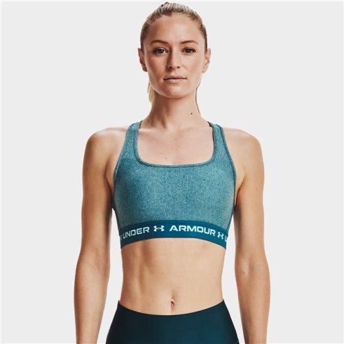 Stanik Sportowy Damski Under Armour  Crossback MID Heather Bra 1361036-400