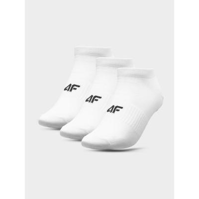 Skarpety 4F SOM301 NOSH4 (3-pak) białe