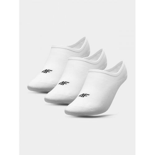 Skarpety stopki Damskie 4F SOD301 NOSH4 (3-pak) białe