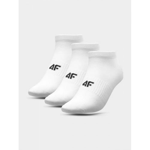 Skarpety stopki Damskie 4F SOD302 NOSH4 (3-pak) białe
