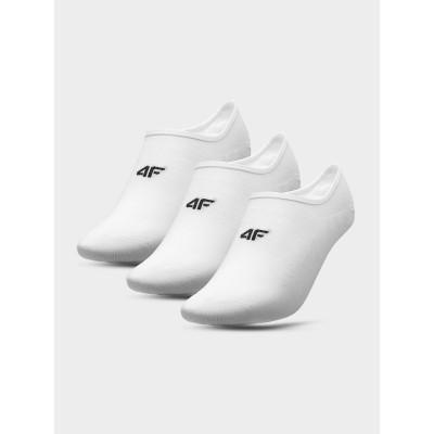 Skarpety 4F SOM300 NOSH4 (3-pak) białe