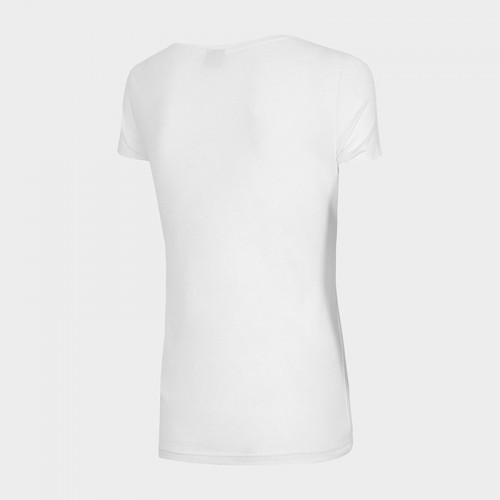 Koszulka Damska 4F TSD353 NOSH4 Biała