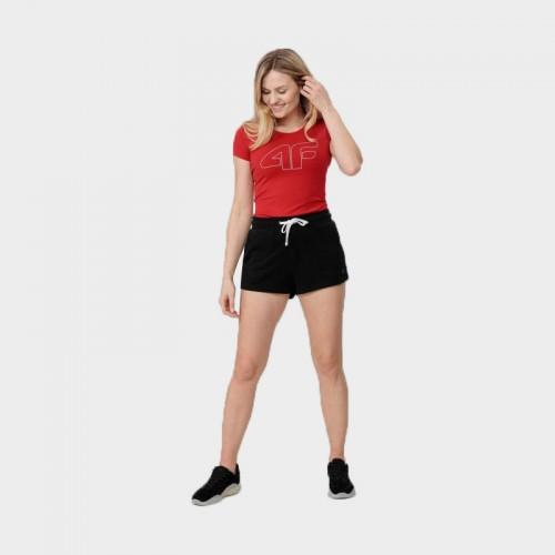 Koszulka Damska 4F TSD353 NOSH4 Czerwona
