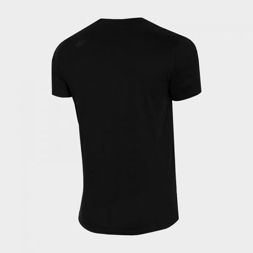 Koszulka Męska 4F TSM352 NOSH4 Czarna