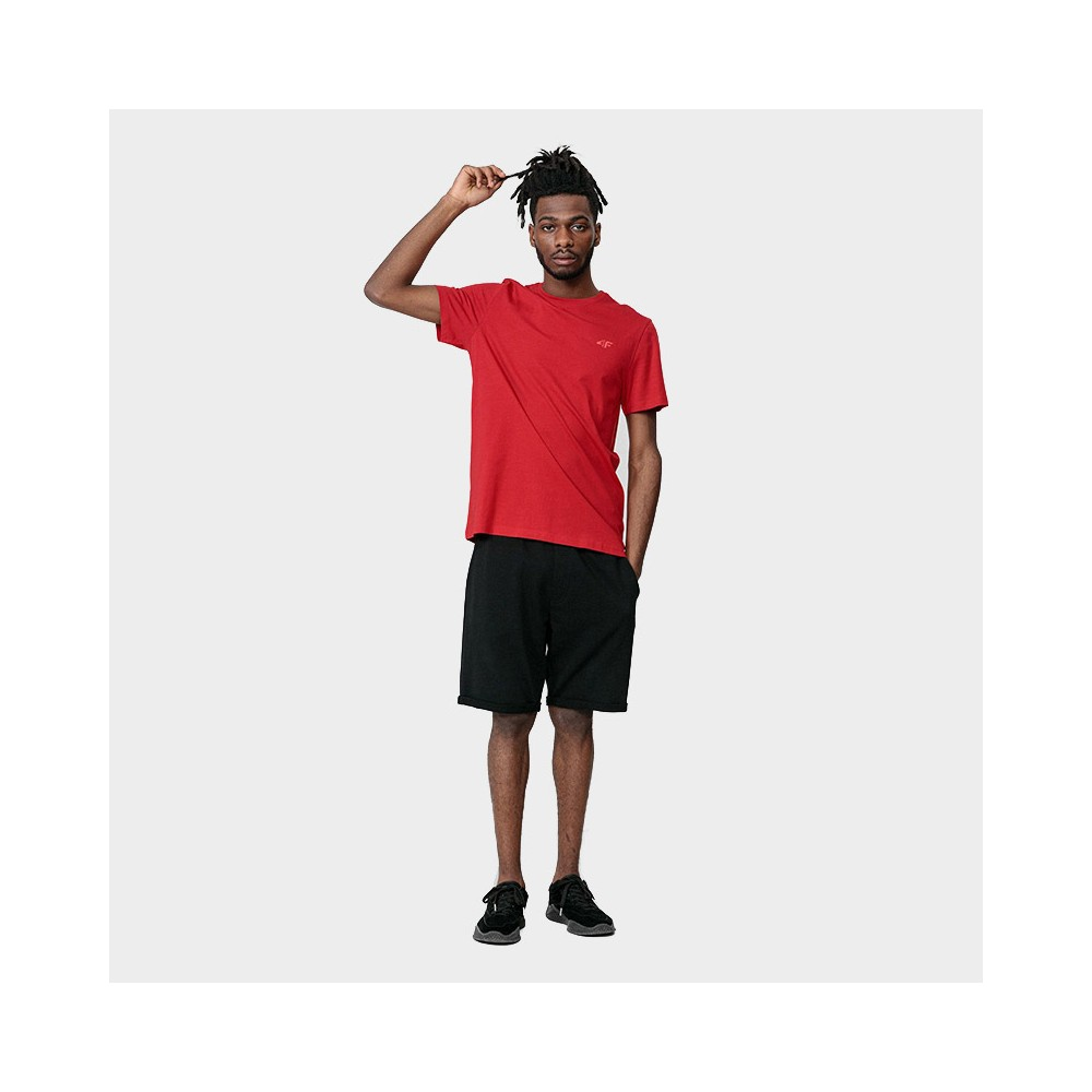 Koszulka Męska 4F TSM352 NOSH4 Czerwona