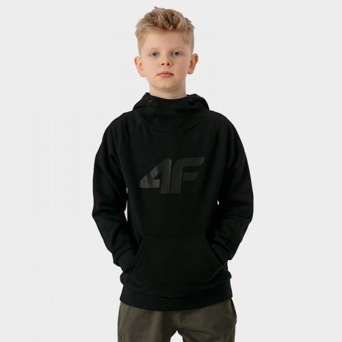 Bluza Chłopięca 4F JBLM001A HJZ21 Czarny