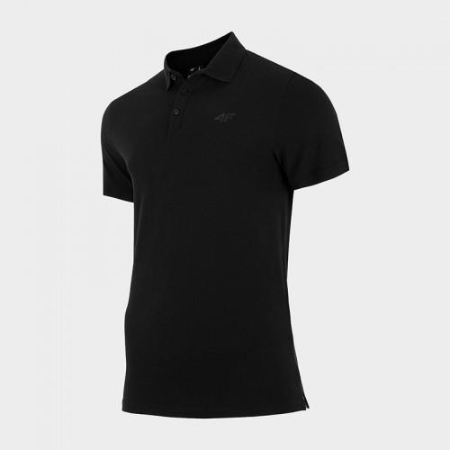 Koszulka Polo Męska 4F TSM356 NOSH4 Czarna