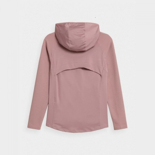 Bluza damska Fitness 4F BLDF012 H4Z21  Jasny Róż
