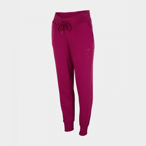 Spodnie Dresowe Damskie 4F SPDD350 NOSH4 Ciemny Róż