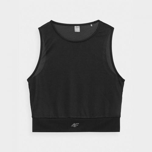 Koszulka Damska Fitness 4F TSDF016 H4Z21 czarna