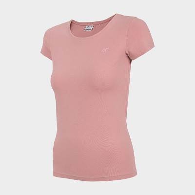 Koszulka Damska 4F TSD350 NOSH4  Jasny Róż