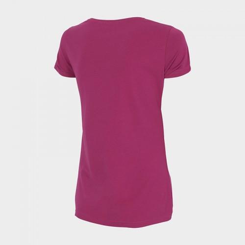 Koszulka Damska 4F TSD350 NOSH4  Ciemny Róż