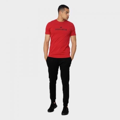Koszulka Męska 4F TSM354 NOSH4 Czerwona