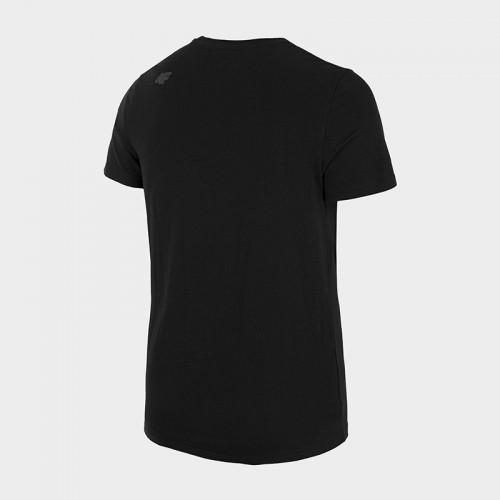 Koszulka Męska 4F TSM354 NOSH4 Czarna