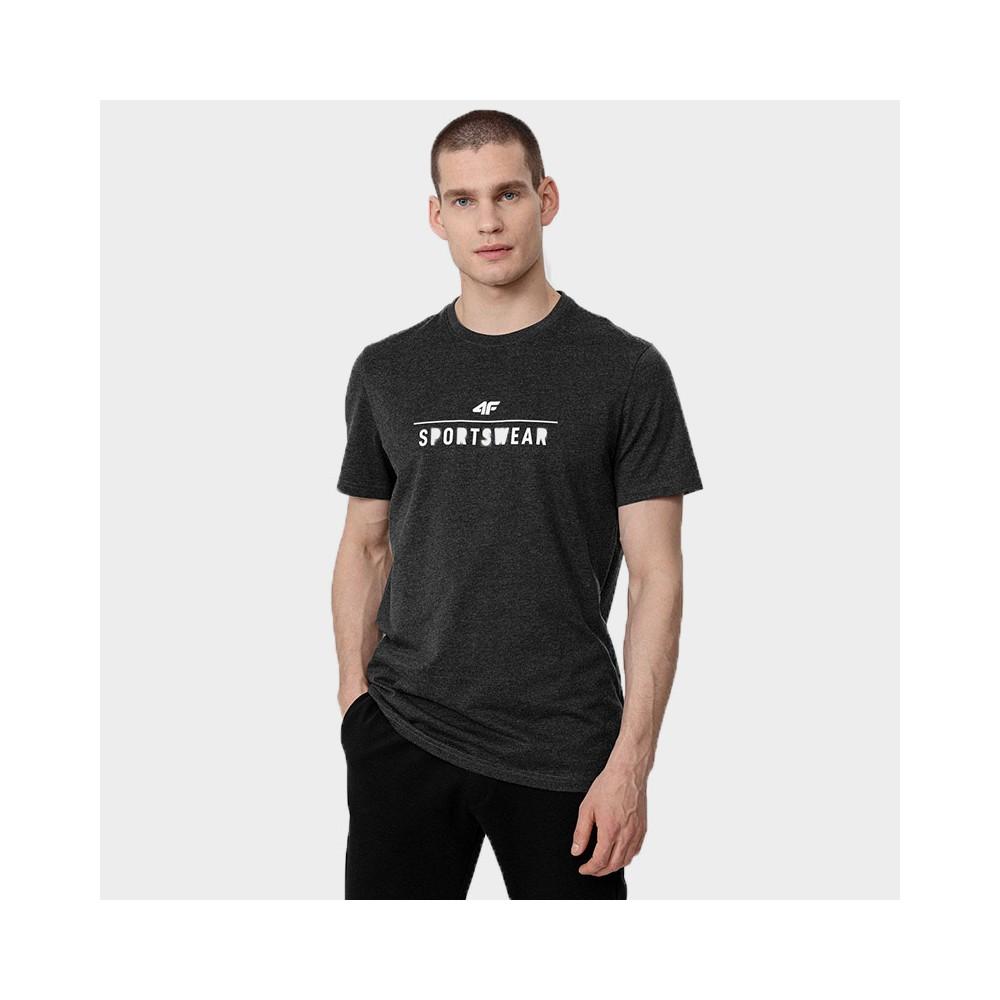 Koszulka Męska 4F TSM354 NOSH4 Szara