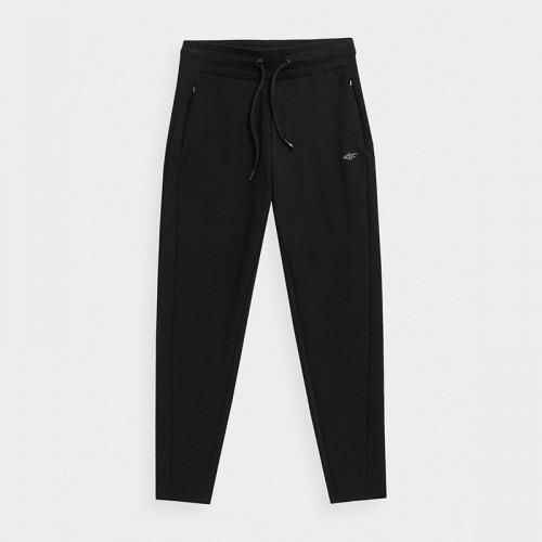 Spodnie Dresowe Damskie 4F SPDD015 H4Z21 Czarne