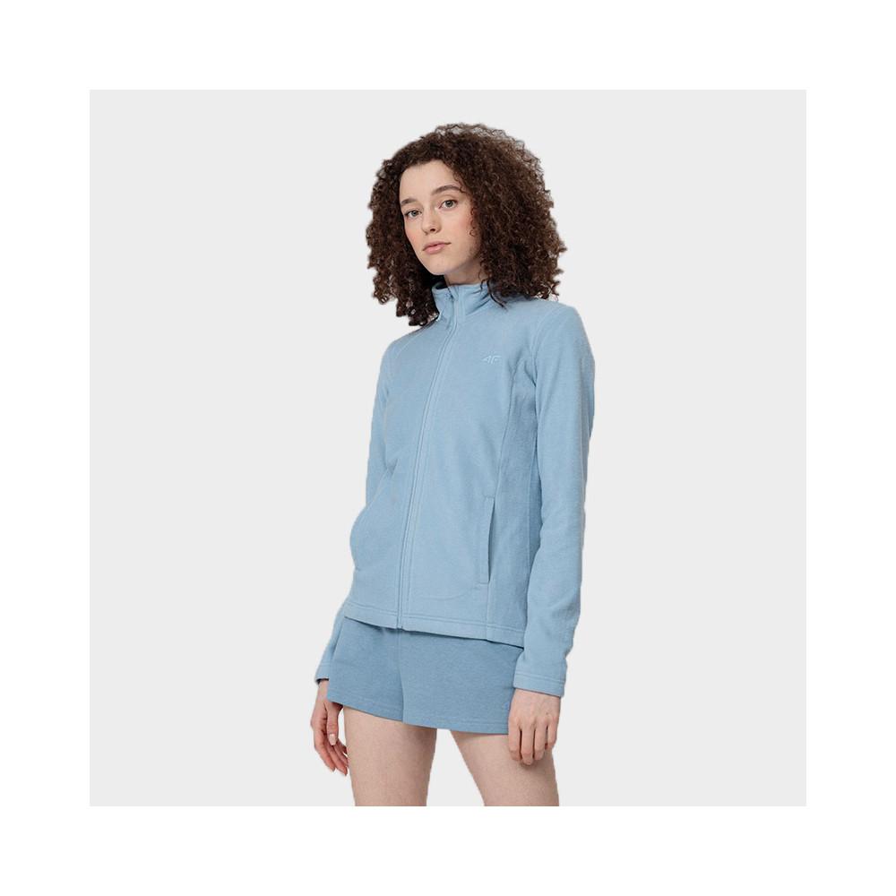 Bluza Polarowa Damska 4F PLD350 NOSH4 Denim