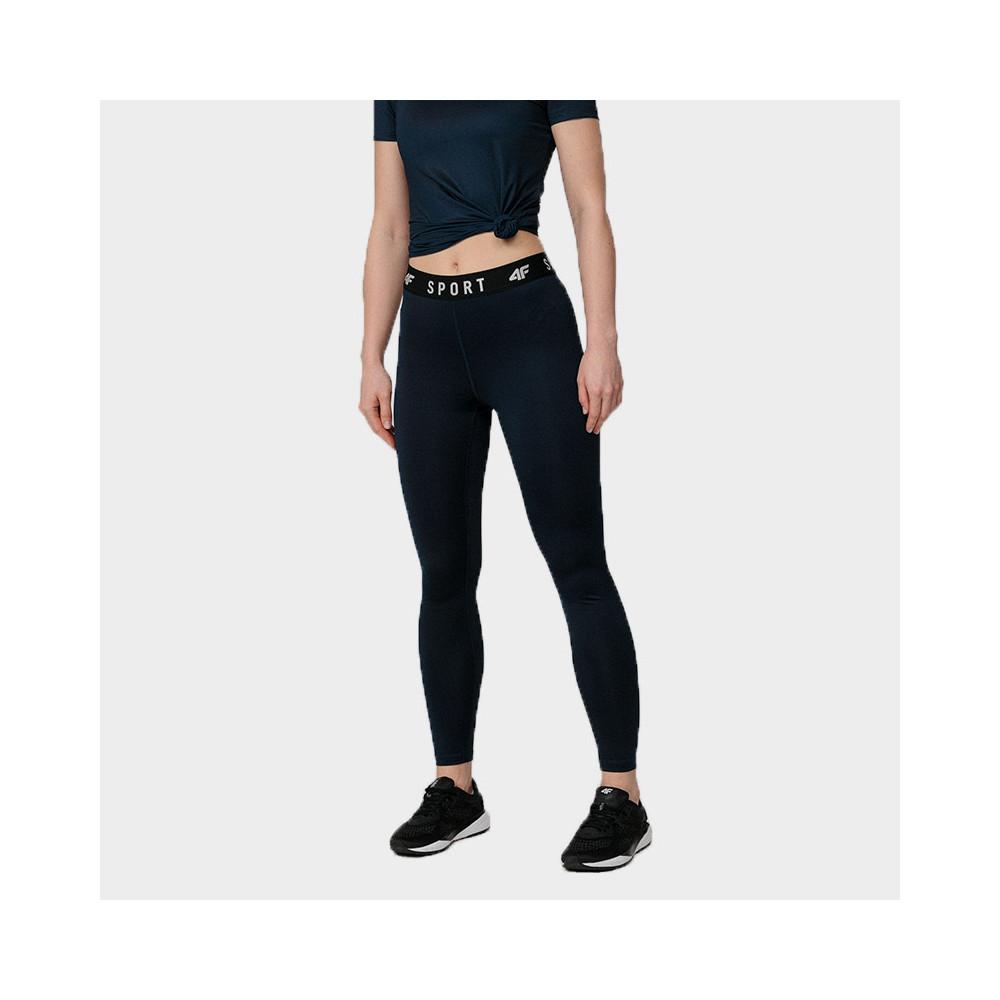Spodnie Damskie Fitness 4F SPDF351 NOSH4 Granat