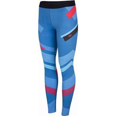 Spodnie fitness damskie SPDF006 H4l20 multikolor