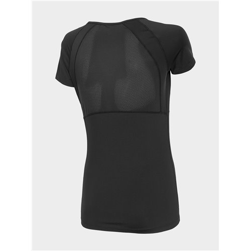 Koszulka Damska Fitness 4F TSDF011 H4L20 czarna