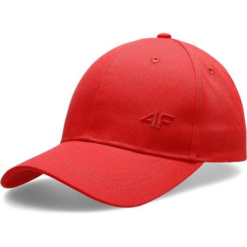 Czapka Damska 4F CAD006 H4L20 czerwona