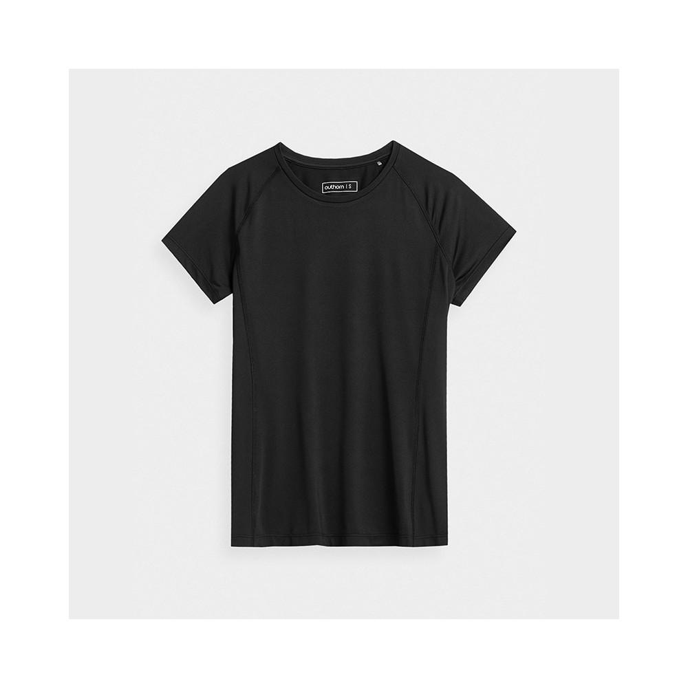 Koszulka Damska Fitness Outhorn TSDF600 HOZ21 czarna