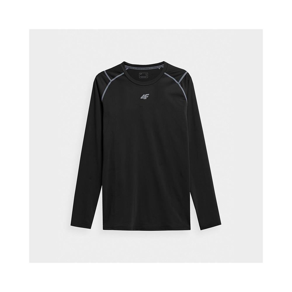 Koszulka Longsleeve Funkcyjna Męska TSMF011 H4Z21 Czarna