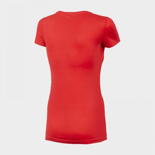 Koszulka Funkcyjna Damska TSDF352 NOSH4 Czerwona