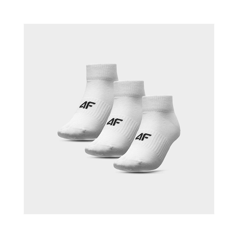 Skarpety stopki Damskie 4F SOD303 NOSH4 (3-pak) białe