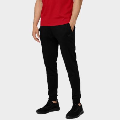 Spodnie Dresowe Męskie 4F SPMD350 NOSH4 Czarne