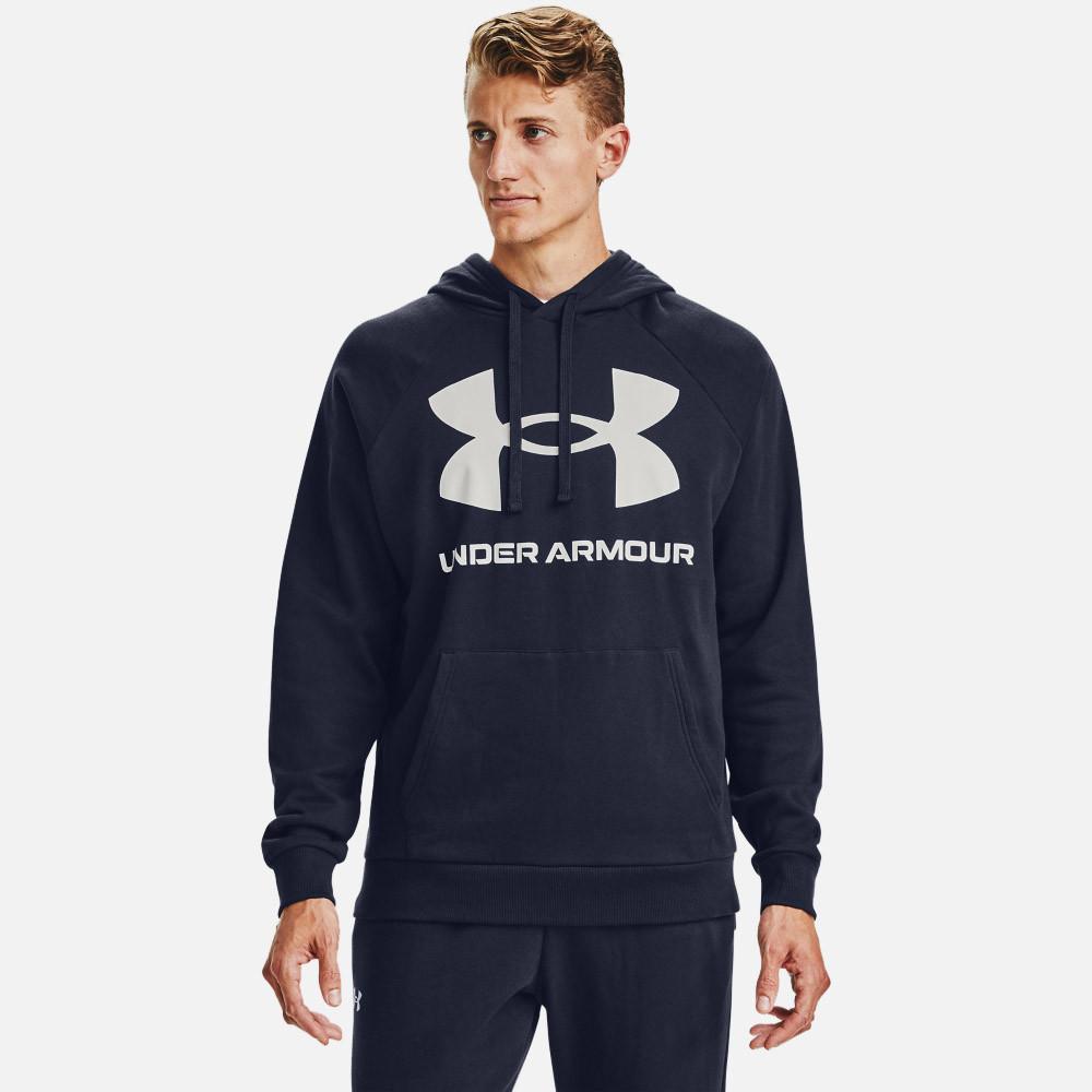 Bluza Męska Under Armour Rival Fleece Big Logo  1357093-410