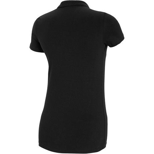 Koszulka T-shirt Polo Damski 4F TSD008 NOSH4 czarna