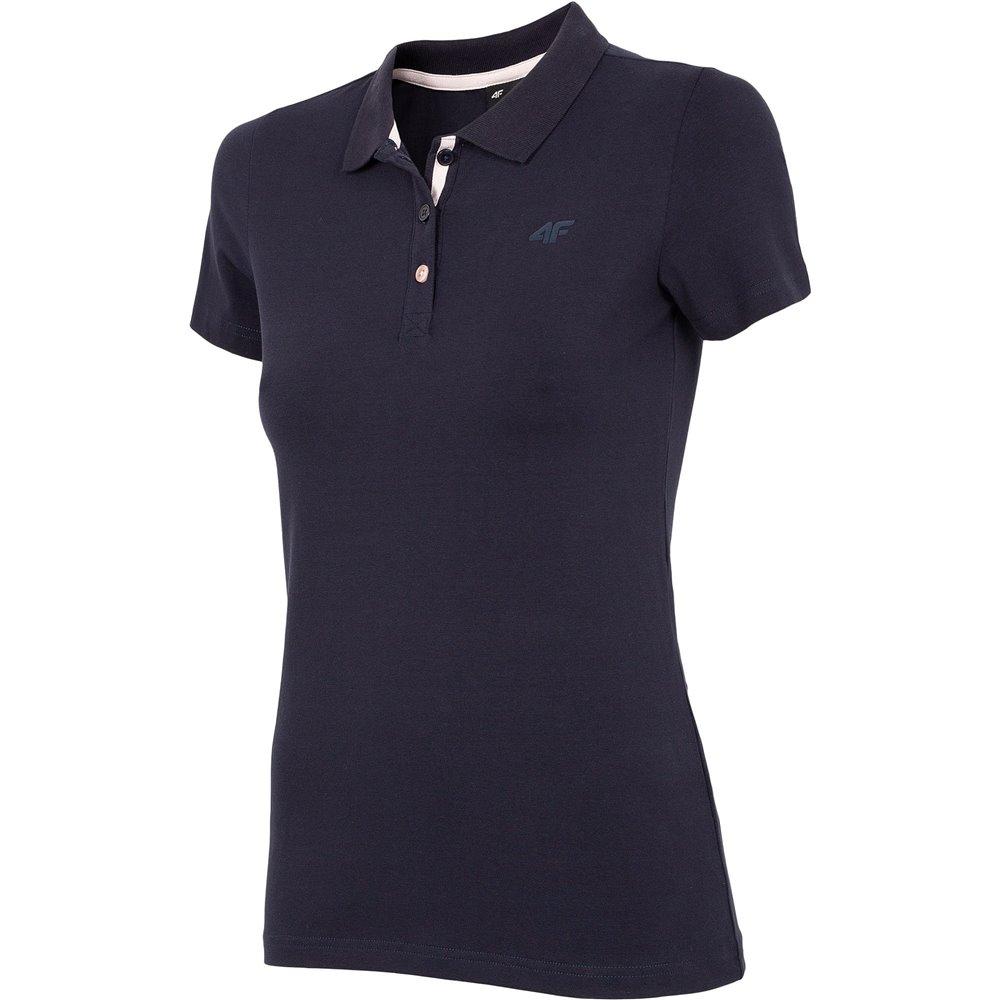 Koszulka T-shirt Polo Damski 4F TSD008 NOSH4 granatowa