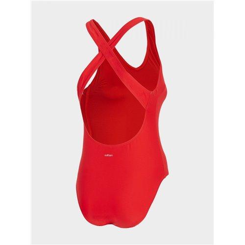 Strój kąpielowy damskie Outhorn KOSP600 HOL20 czerwony