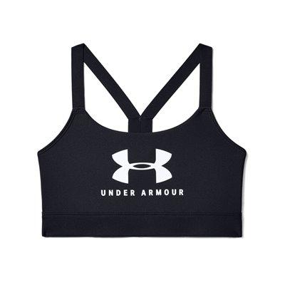 Stanik Sportowy Damski Under Armour 1351998-001 czarny