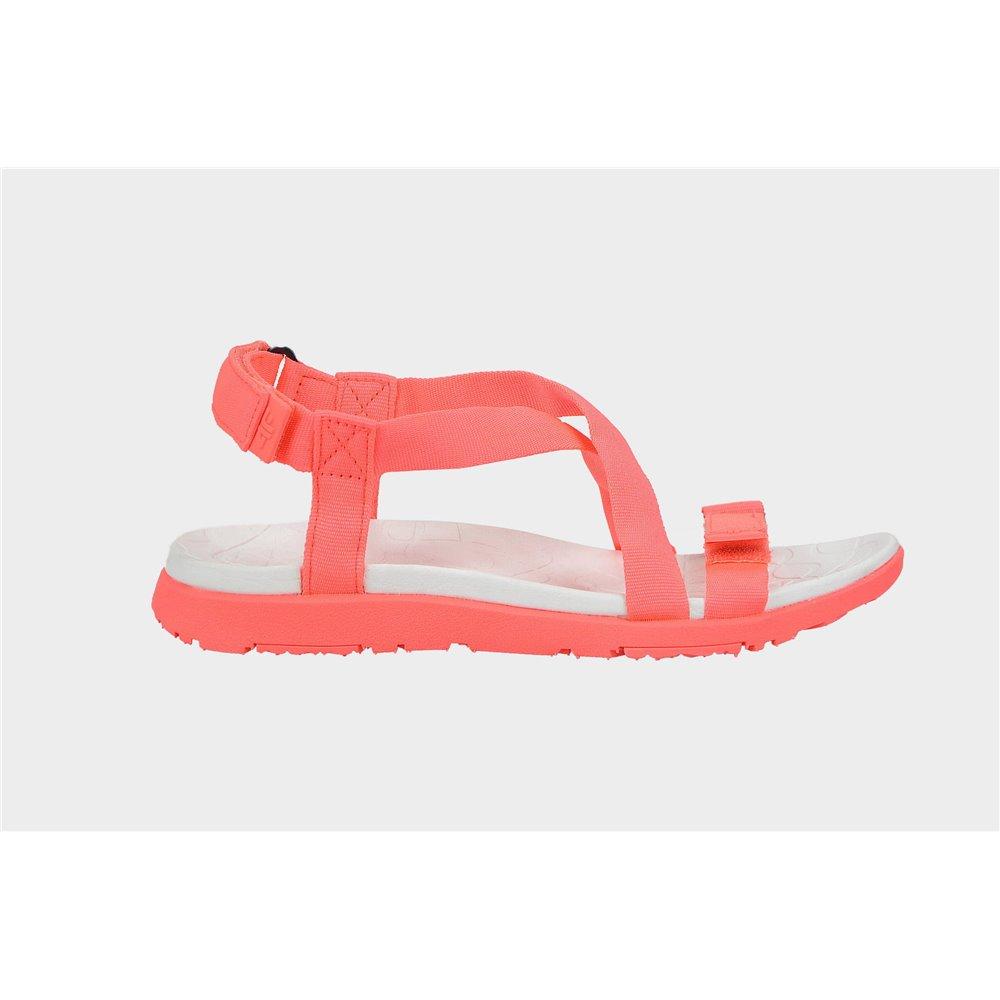 Sandały Damskie 4F SAD002 H4L20 czerwone